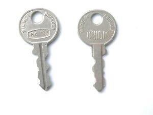 Rare FX series Classic Car Keys genuine Wilmot Breeden Union new old stock