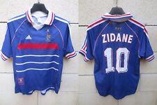 Maillot Equipe FRANCE Adidas shirt ZIDANE Mondial 98 camiseta maglia vintage XS