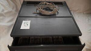 Toshiba POS Cash Drawer 40N6806 for IBM POS Systems, USB, w/ Key, Tray, Cable