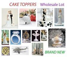 Wholesale Lot of Cake Toppers / Figurines - Birthdays Weddings Anniversaries