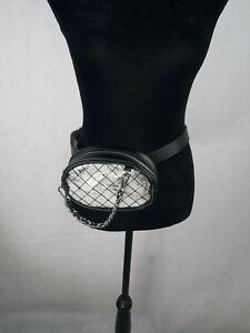 Steve Madden New Women's Clear Belt Bag A-023