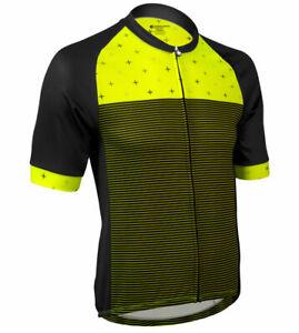 Aero Tech Men's Peloton Reaction Short Sleeve Cycling Jersey - Made in USA