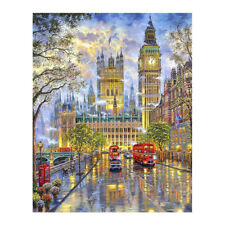5D Diamond Embroidery DIY London Street View Painting Landscape CrossStitch Art