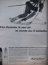 PUBLICITÉ DE PRESSE 1966 SKI DYNASTAR HAUTE COMPÉTITION - ADVERTISING