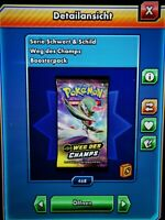 30x Pokemon TCG Online Codes-Weg des Champs-Schneller Online Versand-PTCGO