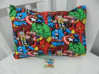 Marvel Avengers Pillowcase Toddler Size - Great Gift!! 100% Cotton