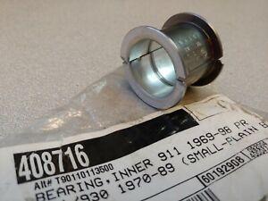 PAIR NEW ORIGINAL PORSCHE 911 914-6 930 INTERMEDIATE SHAFT THRUST BEARING HALVES