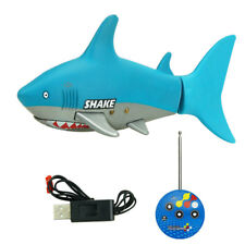 Mini Radio 3Ch Remote Control Rechargeable Cute Fish Boat Rc Electric Toy New