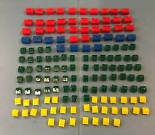 MONOPOLY HOUSES HOTELS (85) Houses (44) Hotels pieces  CRAFTS Replacements