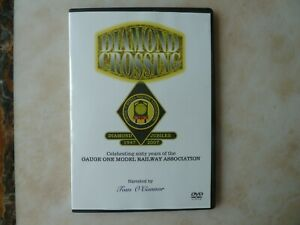 GAUGE 1 MODEL RAILWAY ASSOCIATION DIAMOND CROSSING DVD. FREE POST.