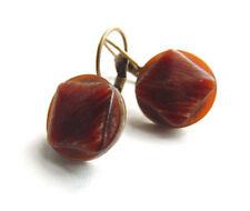 Mode-Ohrschmuck aus Bronze-Perlen