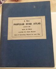 Star Atlas Epoch 1950 vintage antique book