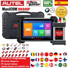 Autel MaxiCOM Pro MK908P Sistema Diagnóstico Vehículos Herramientas J2534 ECU
