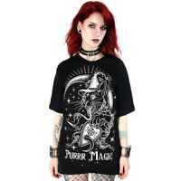 Restyle - PURR MAGIC - Unisex T-Shirt / witchcraft, occult, gothic fashion