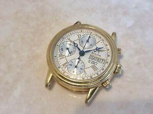 BULOVA 18K GOLD CHRONOGRAPH AUTOMATIC WATCH 60C00