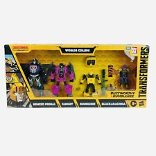 Transformers Buzzworthy Bumblebee War For Cybertron Worlds Collide 4 Pack Figure