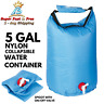 Water Container Carrier Bucket Collapsible Camping Storage Drink Container 5 Gal