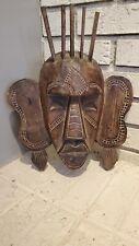 Unique Vintage Mask Wooden Wall Decor