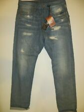 G-Star Raw ESSENTIALS men`s RE US First Classic tapered SELVEDGE blue jeans W31