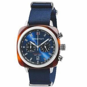 Briston Clubmaster Sport Quartz Men's Watch 17142.SA.TS.9.NBB RRP £265