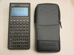 HP 48SX Graphing Calculator with Case, Used