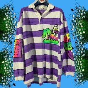 Art Kozmik vintage 1988 rugby sweatshirt size L