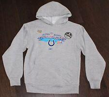 NEW Reebok Indianapolis Colts Super Bowl XLI Hoodie Sweatshirt Youth SMALL S 8