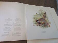 Ned Smith Field and Stream Portfolio of 5 Game Bird Prints w/ box Size 12 x 15.5