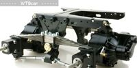 1/14 Rc parts for Tamiya truck Scania / arocs truck double axles suspension V4