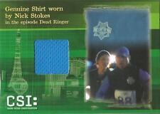 CSI Series 3 Costume Card CSIS3-C3 Nick Stokes Shirt