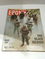 Ebony Magazine August 1968 Special Issue The Black Soldier