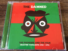 THE DAMNED - The Pleasure And The Pain (1982-1991) 2X CD New Wave / Punk