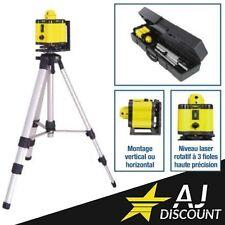 Coffret Niveau Laser Rotatif 360° - Portée de 30 mètre - GARANTIE 3 ANS