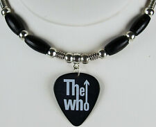 The Who Logo Guitar Pick Necklace