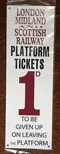 LMS Railwayana Plates & Signs