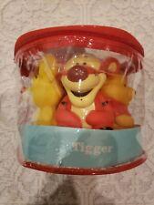 NEW Disney Winnie The Pooh 5 Baby Bath Squirters Sz 4'' Tall