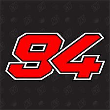 94 - Jonas Folger Numero di partenza Moto GP Adesivo