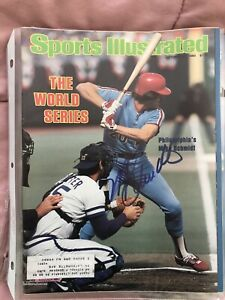 Mike Schmidt Autograph Signed Sports Illustrated 10/27/80