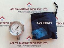Ashcroft 2 Psi Subd Test Controllo