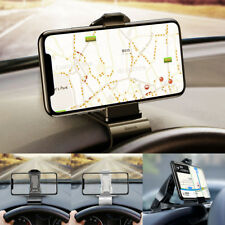 Baseus Pince à Clip Adjustable Dashboard Car GPS Téléphone Support Anneau Holder