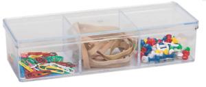 Clear Acrylic Cosmetic Organizer Makeup Case Jewelry Storage Holder / Box $4