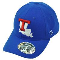 NCAA Zephyr Louisiana State Bulldogs Flex Fit Medium Large Blue Hat Cap Stretch