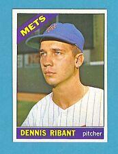 1966 Topps Baseball Card #241 Dennis Ribant (New York Mets) EM AJ0166