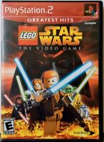 """""""LEGO Star Wars: The Video Game"""" Sony PlayStation 2 PS2 Greatest Hits 2005"""