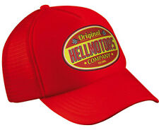 Hellmotors Trucker Cap Hot Rod V8 US Car Oldschool Indi 500 NASCAR Baseball Rot