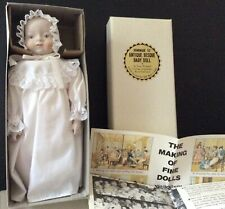 "antique 10"" bisque baby doll by Shackman N.Y. made in Japan old store stock MIB"