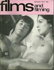 RARE - FILMS AND FILMING Magazine - November 1974 - Marlon Brando  Felix The Cat