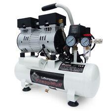 Flüster Kompressor Luftkompressor Leise Silent Druckluft 8L Kessel 550W 69dB