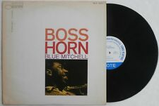 Blue Note Jazz Record 1st Press Mono Van Gelder Boss Horn Blue Mitchell Hard Bop