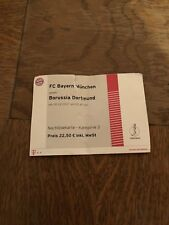 Sammlerticket FC Bayern München - Borussia Dortmund (DFB Pokal 2017/2018)